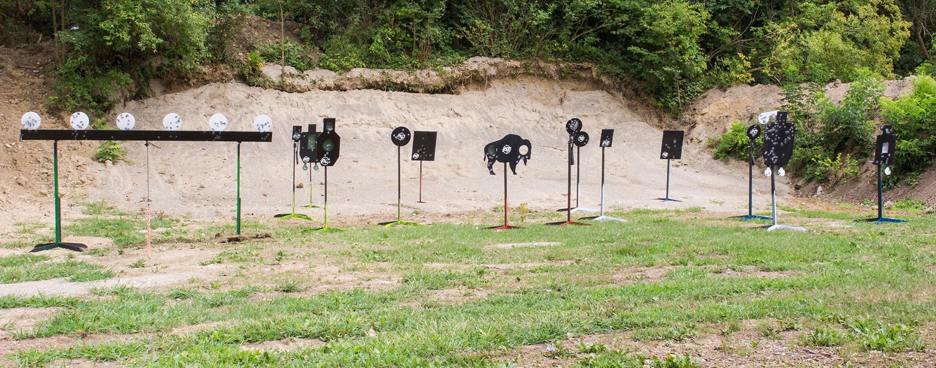 Outdoor Firearms Range, Target shooting