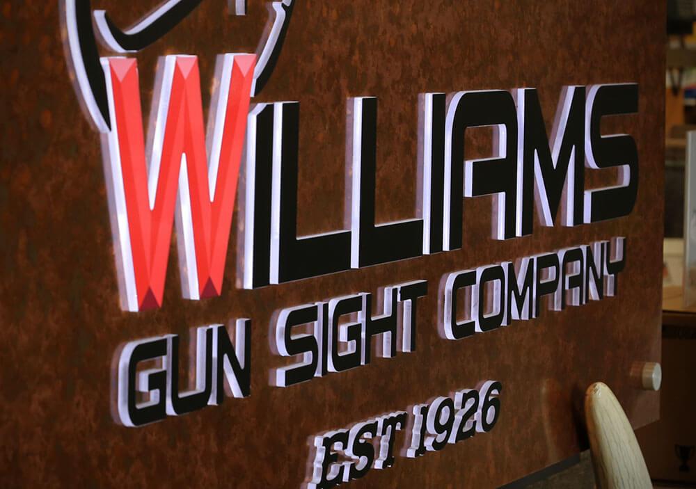 Williams Gun Sight Retail Tour
