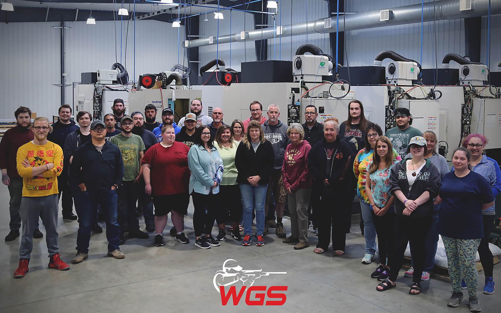 William's Gun Sight Manufacturing Team